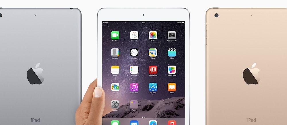 iPad mini 3とiPad mini 2を比較してみる