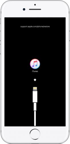 iPhoneのリカバリーモードで初期化する方法