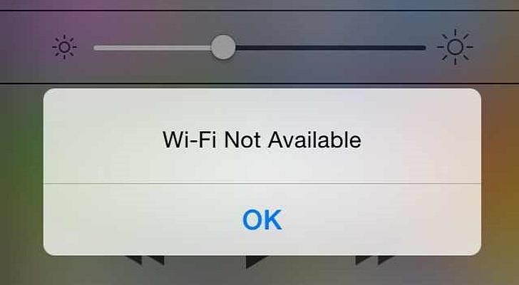 iOS9.3.4でWi-Fiの不具合