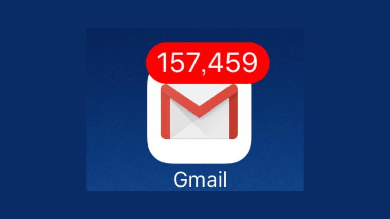 iPhoneで未読のGmailを一括で既読にする方法