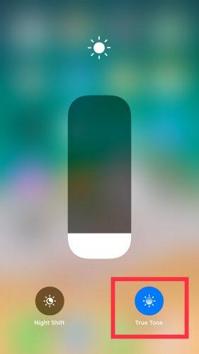 iPhoneでTrueToneをオフにして電池の減りを抑える