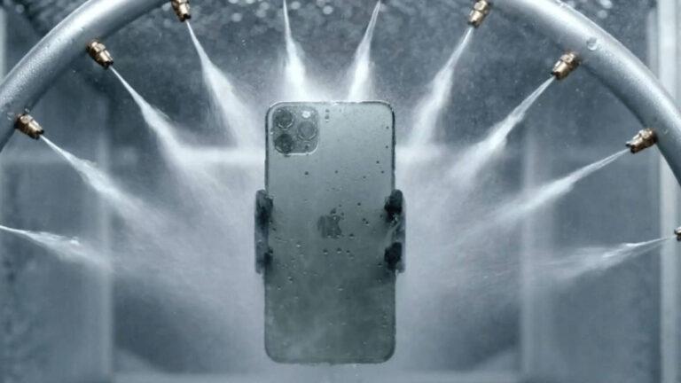iPhoneの防水はお風呂や海で使っても大丈夫