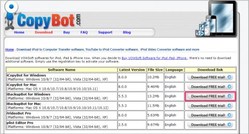 iBackupBot for WindowsでiPhoneの充電回数を確認する