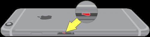 iPhone6S/6SPlusの水没マーク