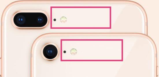 iPhoneのおサイフケータイの位置