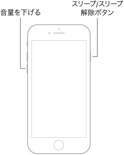 iPhone7とiPhone7 Plusは強制再起動