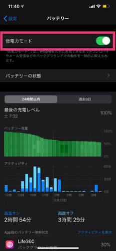 iPhoneの省データモード