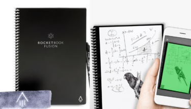 【Rocket bookレビュー】紙に書いた内容がクラウドに自動保存?次世代スマートノートがまさに魔法のノートや!