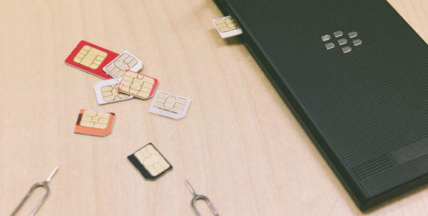 エクスプレス交換の前にSIMカードは抜いておく