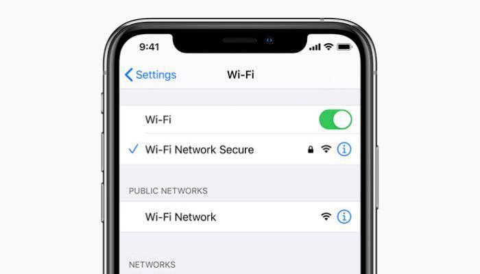 iPhoneでWi-Fiに「安全性の低いセキュリティ」と表示される原因と対処法