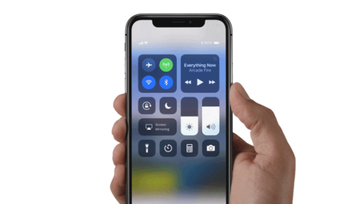iPhoneのコントロールセンターで機能を追加・削除・並び替え