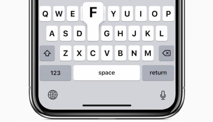 iPhoneでキーボードの種類を切り替える方法