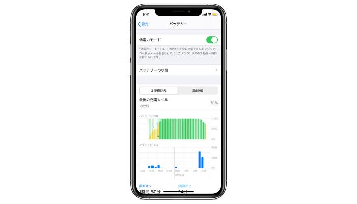 iPhoneの低電力モードの設定方法と使い方