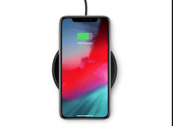 iPhoneをワイヤレス充電