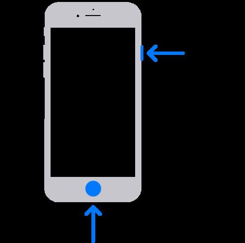 iPhone8・iPhone7・iPhone6・iPhoneSE(第二世代)でスクリーンショットを撮る