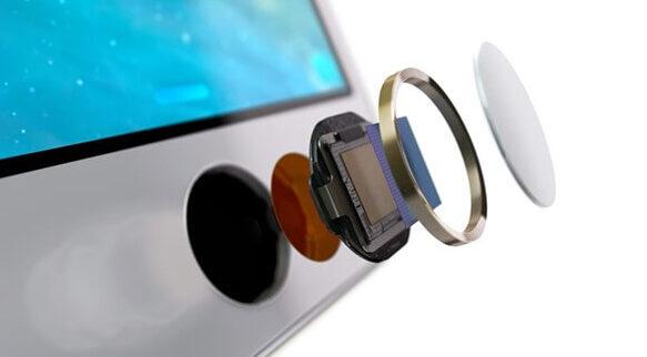 iPhoneのタッチIDが反応しない