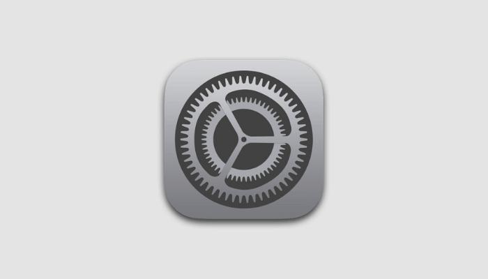 iPhoneで設定アプリのアイコンが消えた
